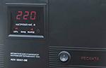 Ресанта АСН-1500/1-ЭМ - лицевая панель