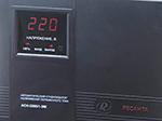 Ресанта АСН-2000/1-ЭМ - лицевая панель