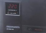 Ресанта АСН-3000/1-ЭМ - лицевая панель