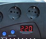 Ресанта С2000 - электронный дисплей