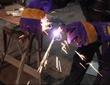 Резка инверторным плазменным резаком Ресанта ИПР-40К