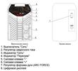 Панель управления сварочного аппарата пониженного напряжения САИ-190ПН