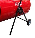 Электрическая тепловая пушка ТЭП-24000К (ножки и колесики)