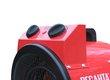 Электрическая тепловая пушка ТЭП-5000К (панель управления)